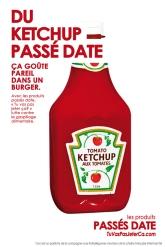 Ketchup passé date