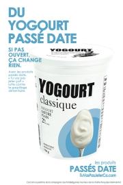 Yogourt passé date