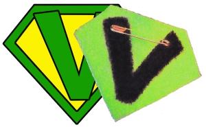 Nouveau symbole en feutrine pour ceux qui veulent s'afficher!